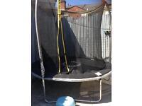 Sportswear trampoline