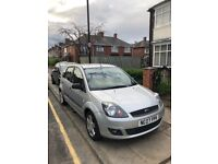 Reliable with low mileage Ford Fiesta. Some minor body work damage see photos.