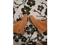 Genuine ladies timberland boots & thigh high boots