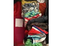 Various bundles boys clothes