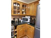 Solid pinewood cabinets for sale