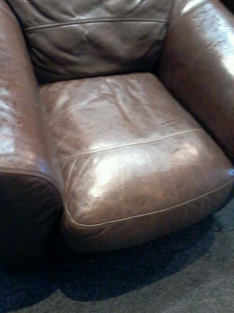 Soft Italien leather sofa and chair | in Andersonstown, Belfast ...
