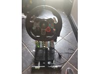 Logitech ps4 wheel pedal and pro stand
