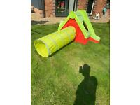 Chad Valley funtivity outdoor fun house and slide