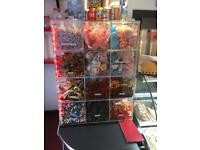 "Pick ""n"" mix , plastic unit/ice cream shop"