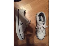 Genuine Polo Ralph Lauren White Leather Trainers