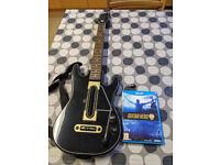Guitar Hero Live Wii U game + guitar + USB dongle