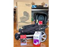 BRAND NEW CAR SEAT & CARRYCOT - Britax Pushchair Travel System (with B Agile 3 pushchair)