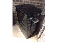 9 x Wooden Service Trolley - Cabinet - Custom made - Color Black