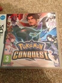 Pokemon conquest rare