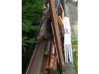 Quantity of used wood (mainly hardwood)