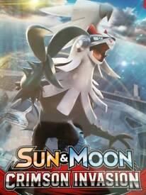Pokemon TCG S&M Crimson Invasion 60 Card Bundles
