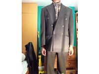 Charcoal Suit - 40R Jacket, 32L Trousers