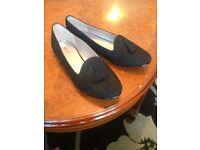 BRAND NEW - Black Ballerina/ Office/ Smart Shoes Size 7.5 (UK Size)