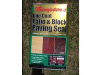 Thompsons Patio and Block Paving Sealer