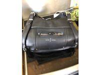 Ladies Jasper Conran Black Faux Leather Shoulder Bag