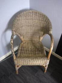 Wicker chair good condition