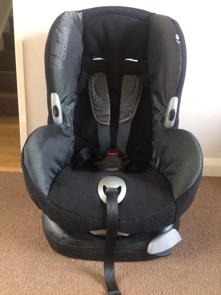 maxi cosi priori reclining car seat in plymouth devon gumtree. Black Bedroom Furniture Sets. Home Design Ideas