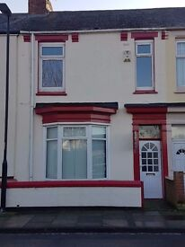 3 Bedroom Terraced Property in Hartlepool. Rent direct from landlord. Available immediately.