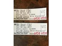 "2 Tickets for ""Ghost"" tonight at Dunham Massey"