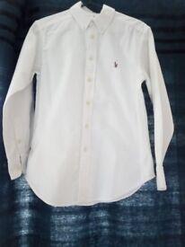 Boys Ralf Lauren Shirt Size 10 years