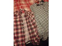 Assorted checkered shirts