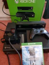 Xbox one inc kinect, controller and star wars