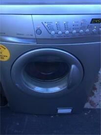 Silver/grey zanussi 6kg 1400spin washing machine free local delivery if required