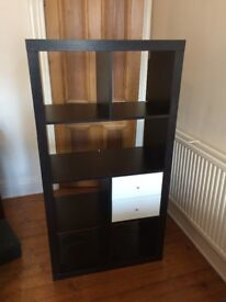 Black Book Case / Shelving Unit