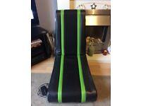Used Xbox Xrocker Gaming Chair with adapter good condition