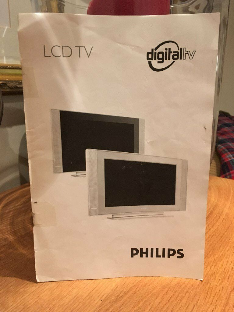Philips LCD Digital 32 inch TV (surround speakers also available)