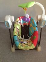 Fisher Price Jungle Swing.