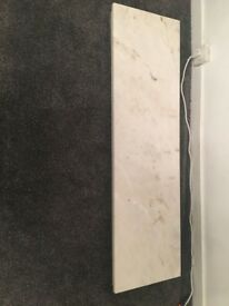 Solid marble harth