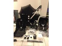 2015 Bugaboo cameleon 3 pram black and maxi cosi pebble car seat (comfort Harness)