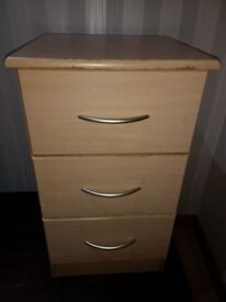 TALL Bedside Table / Drawers