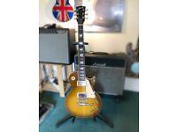 Gibson les Paul standard - bareknuckle pickups- 59 mods
