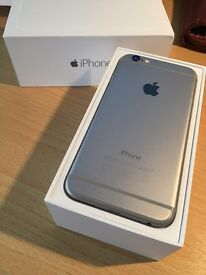 I PHONE 6, SILVER, 16GB, EXCELLENT CONDITION, WELL LOOKED AFTER. COMES WITH ORIGINAL BOX