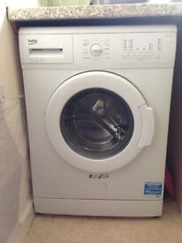 hardly use 10 to 12 time, just 1 year old. Beko washing machine, 5kg - collection only £160