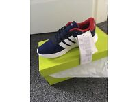 Kids adidas trainers size 13
