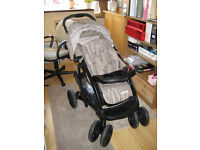 Graco Bear and Friends Pushchair, footmuff and carry cot