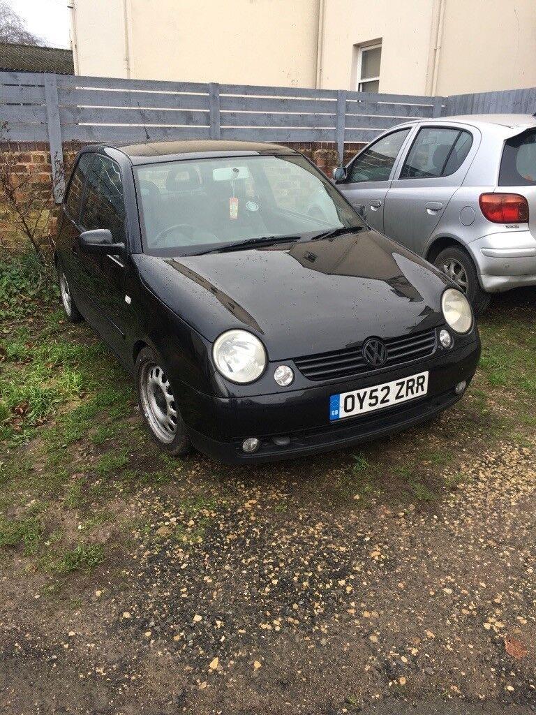 VW Lupo 1.4 TDi 2002 Spares or Repair  08674554783cb