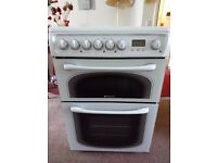 Hotpoint Electric cooker, slot in 600mm, White