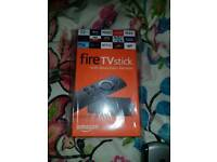 Brand new Fire Stick with Alexa voice remote control