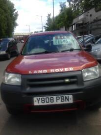 Land Rover Freelander S, 2001, 1.8cc, clean car, drives well.