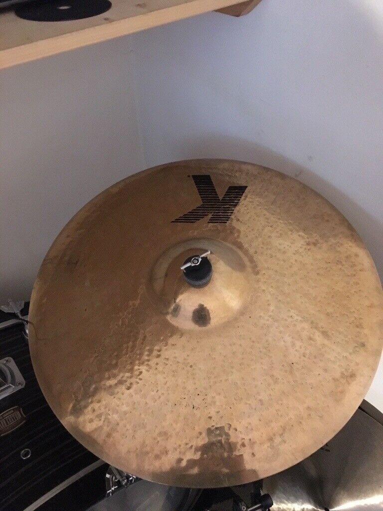 """Zildjian Ride Cymbal K 20"""" Bargain."""