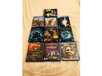 10 BLU-RAY 3D films(pls see pic for title)excellent condition.Some double or triple cds.CAN DELIVER