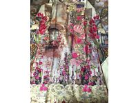 Brand new Asian ladies full embroidered stitched suit in small medium size