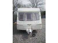 Bailey 4 berth caravan 1997 with awning