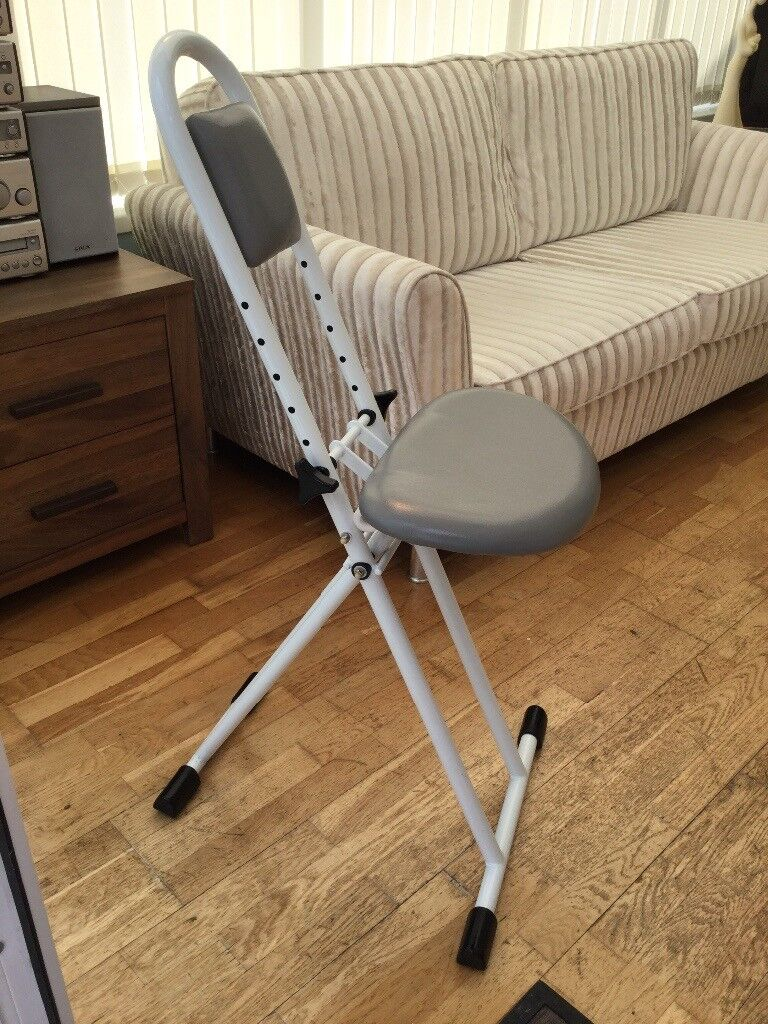 BRAND NEW SHOWER MOBILITY SEAT FREE STANDING ADJUSTABLE | in ...