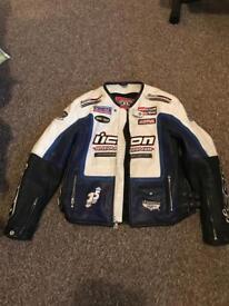 Motorcycle Icon leather jacket